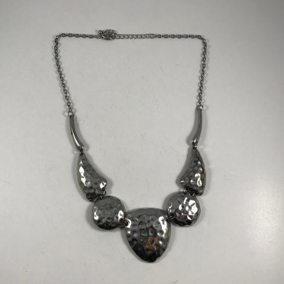 Vintage Jewelry - Vintage Silver Tone Necklace, Vintage Jewelry
